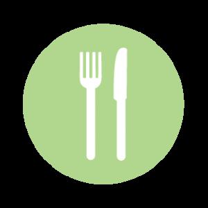 Icoon eten / menu